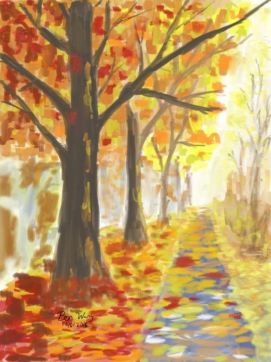 Fall leaves - ArtworksBay