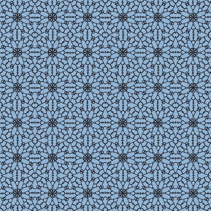 Airy Blue Lace - Sara Valor