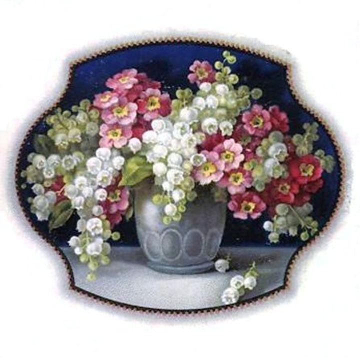 Vintage Flower Vase - Sara Valor
