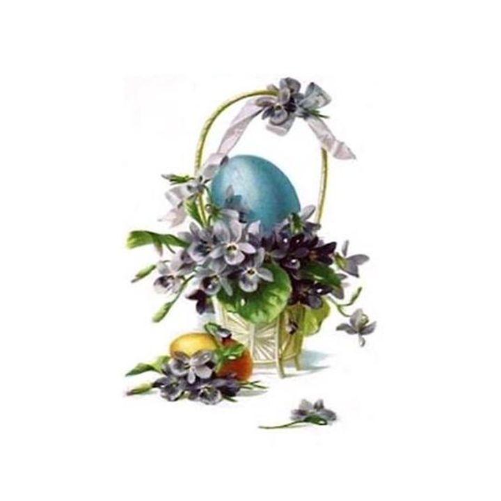 Vintage Easter Basket - Sara Valor