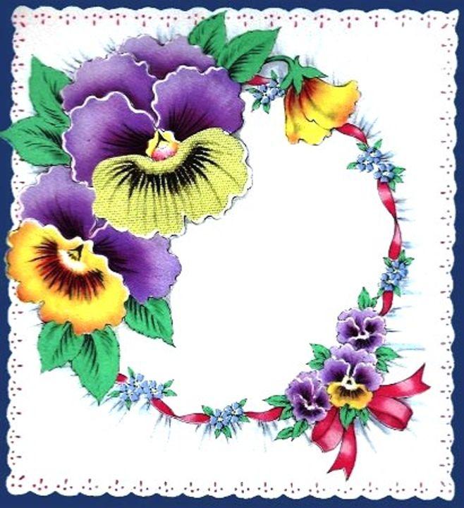 Vintage Pansy Floral - Sara Valor
