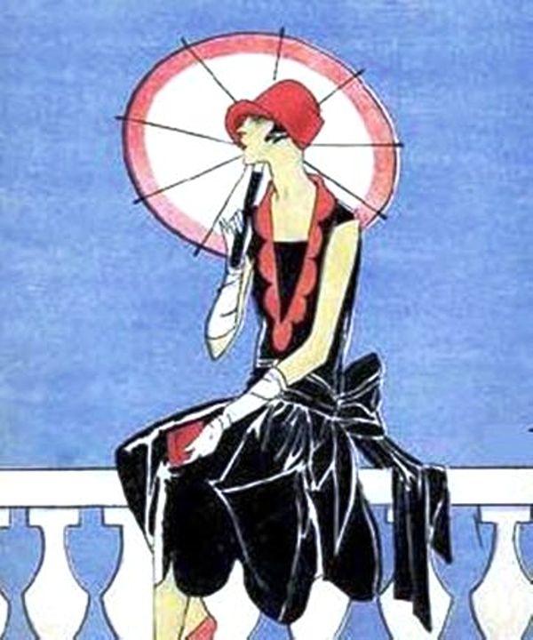 Art Deco Lady - Sara Valor