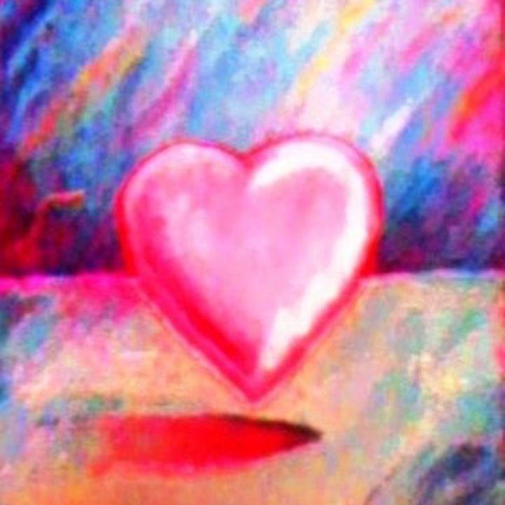 Retro Pastel Heart - Sara Valor