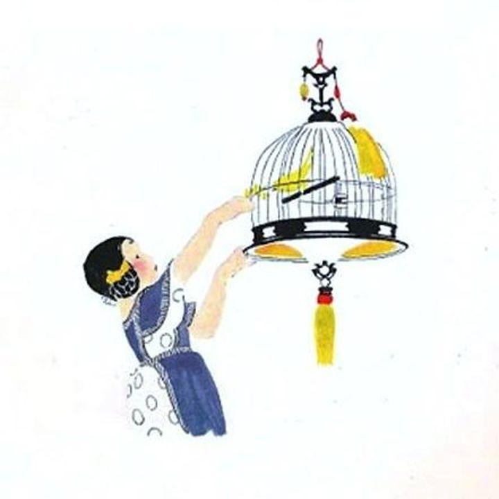Vintage Canary Birdcage - Sara Valor