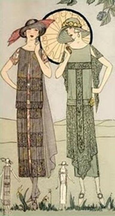 Vintage Flapper Fashion - Sara Valor