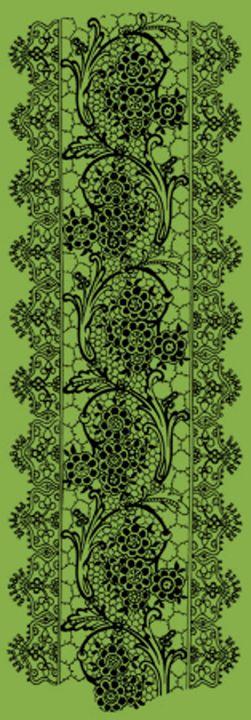 Vintage Lace Greenery - Sara Valor