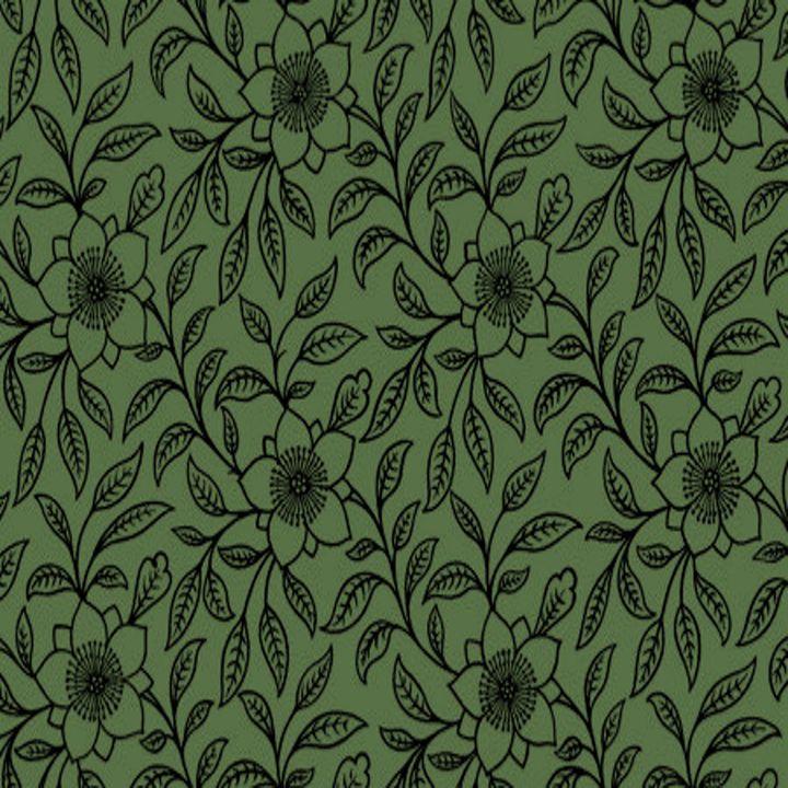Vintage Lace Floral Kale - Sara Valor