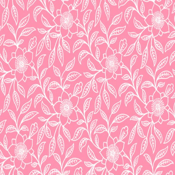 Vintage Lace Floral Pink - Sara Valor