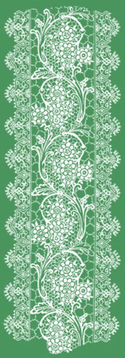 Vintage Lace Green - Sara Valor