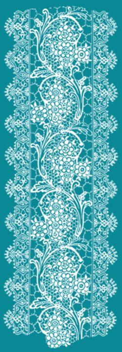 Vintage Lace Turquoise - Sara Valor