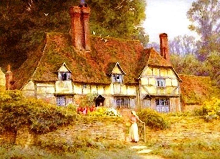 Vintage Country Cottage Estate - Sara Valor