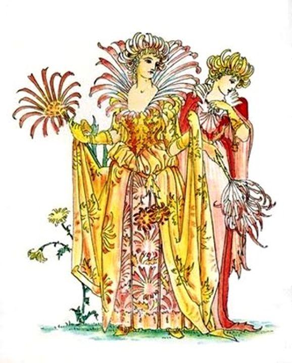 Vintage Tiger-Lily Lady Goddess - Sara Valor