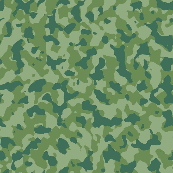 Camouflage Forest Foliage - Sara Valor