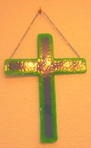 Blue & Green Cross