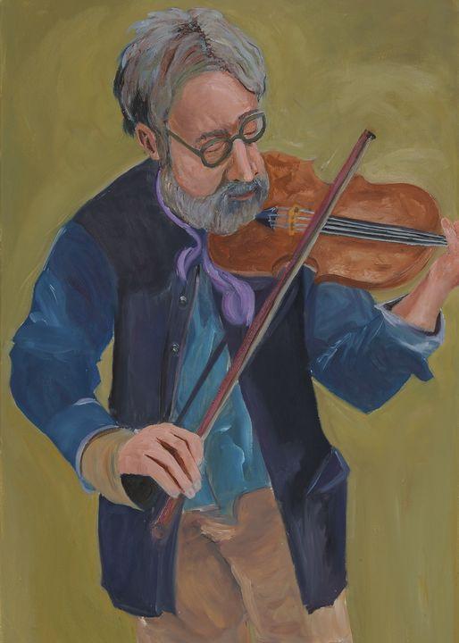 The violinist - SALIS ART