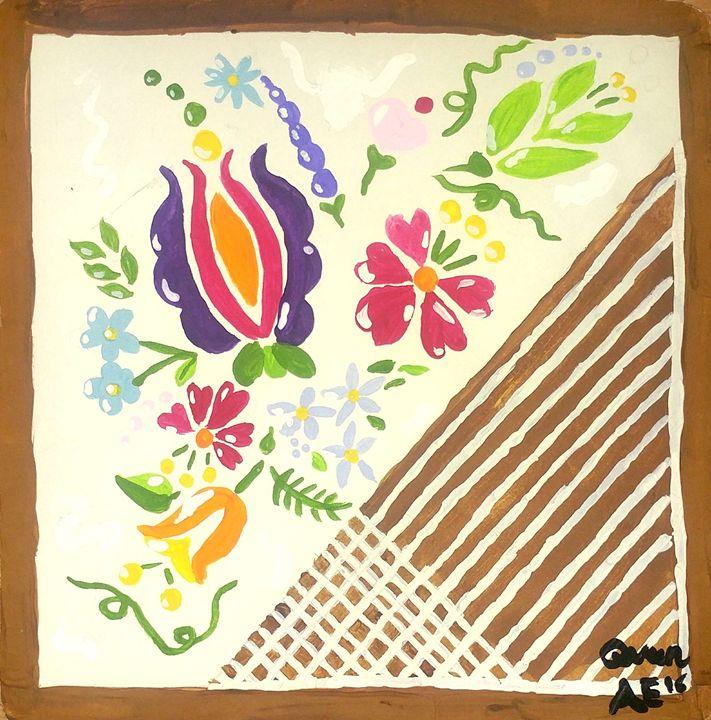 Flower Stitch - Artistic 🎨 Expressions!