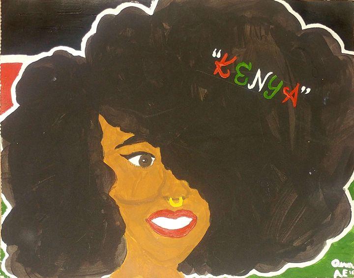 Kenya - Artistic 🎨 Expressions!