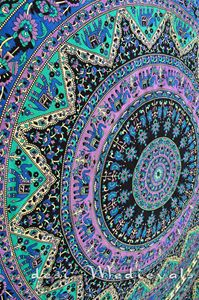 Paisley Hippie Wall Decor Bedroom