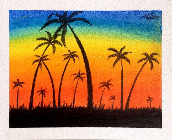 summer sunset - Netso a.a