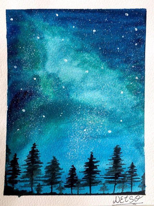 Magical wintry-night - Netso a.a