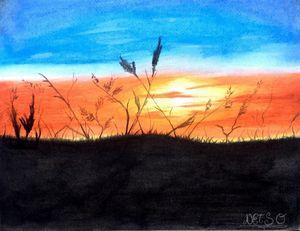 Sunset full of memories