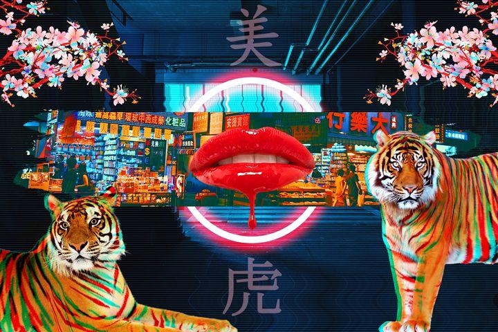 Tokyo Tiger - Nuwave Fighters