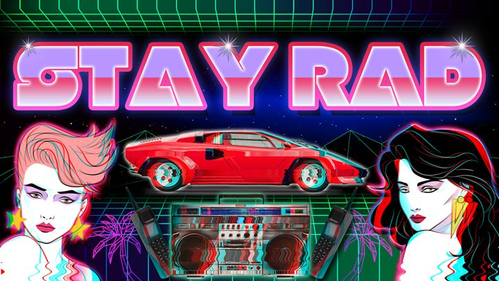 Stay Rad - Nuwave Fighters