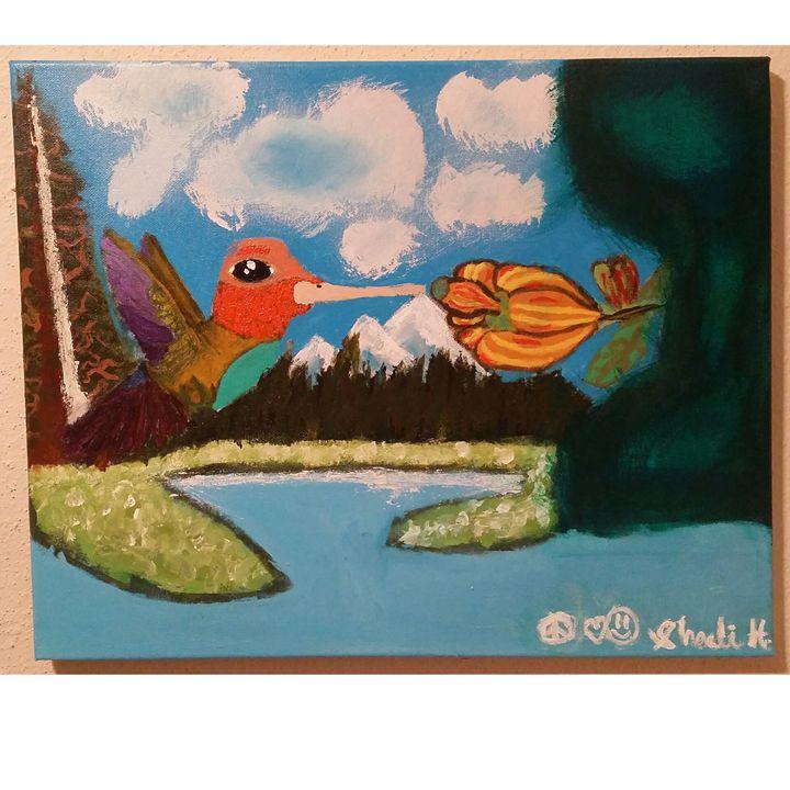 Fly Free Hummingbird - ShaeButtaProductions