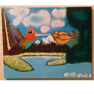 Fly Free Hummingbird