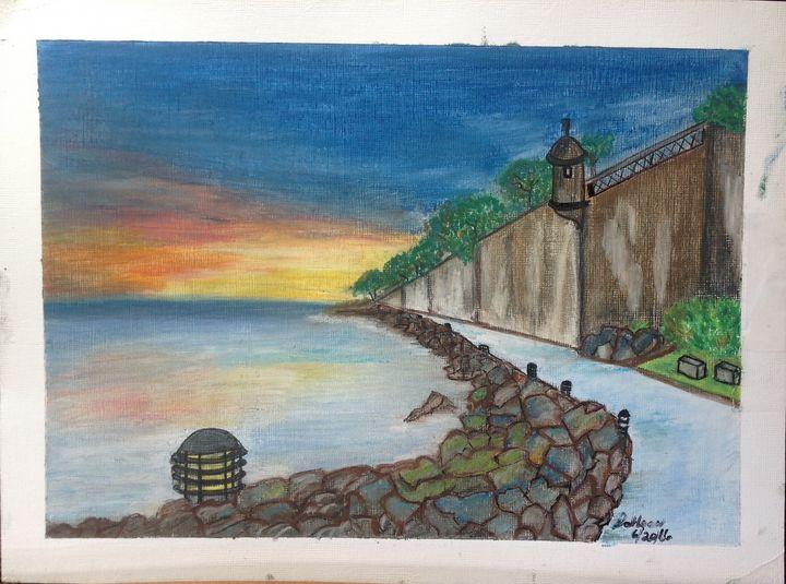 El Morro walkway - Time Traveler