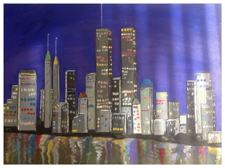City landscape - Time Traveler