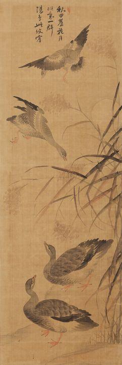 Sketches by Yang Gihun (, 1843-1919 - Canvas printing