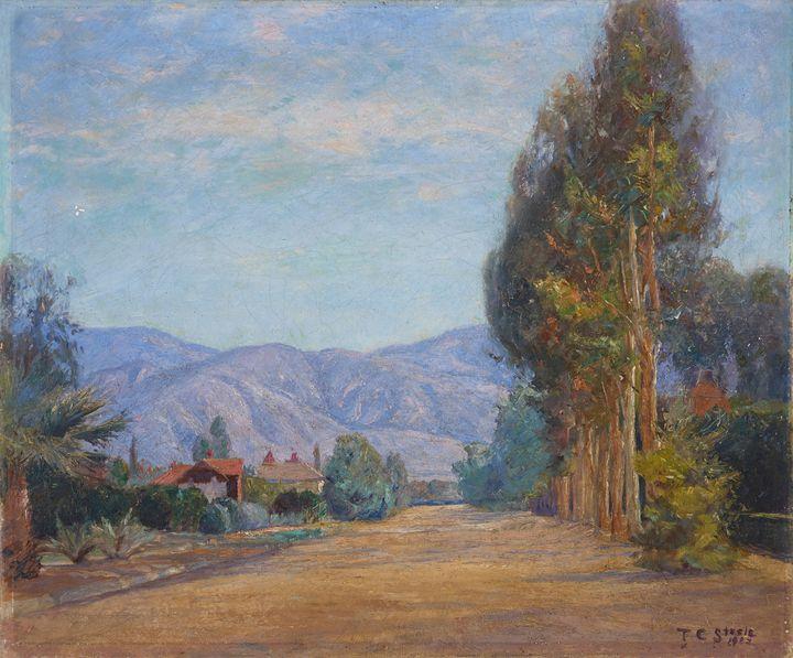 T C. Steele (American, 1847-1926)~Hi - Canvas printing