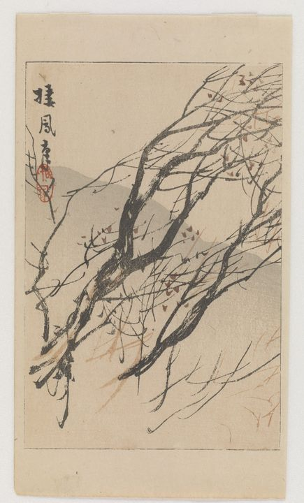 Takeuchi Seihō~Deer, from the series - Canvas printing