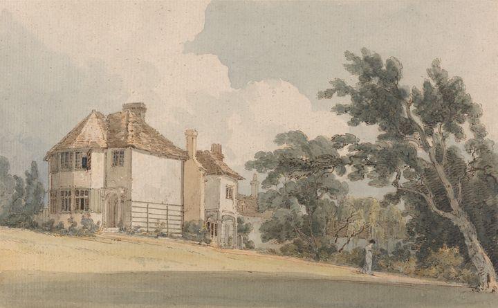 Thomas Gilding~Country House - Canvas printing