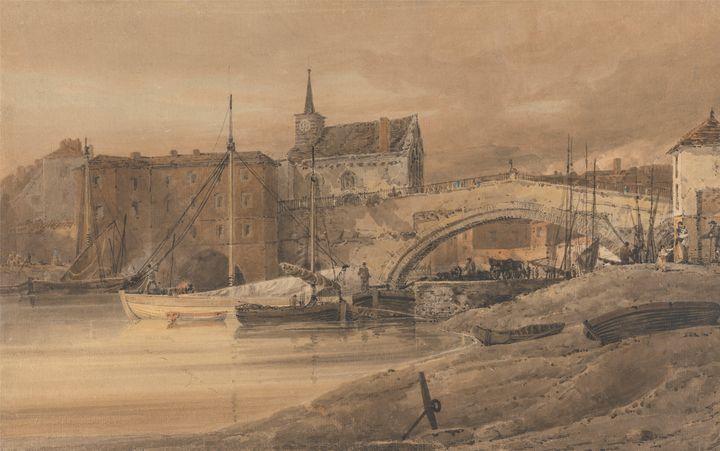 Thomas Gilding~Ouse Bridge, York - Canvas printing