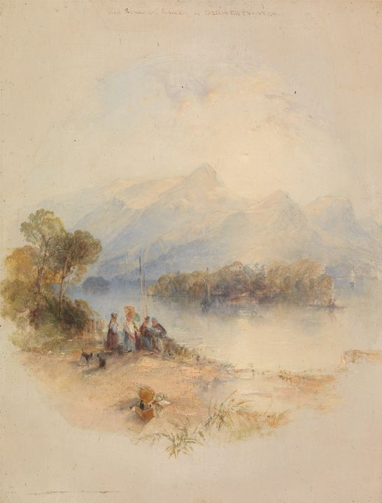 Thomas Kresick~The Summer Bower, Der - Canvas printing