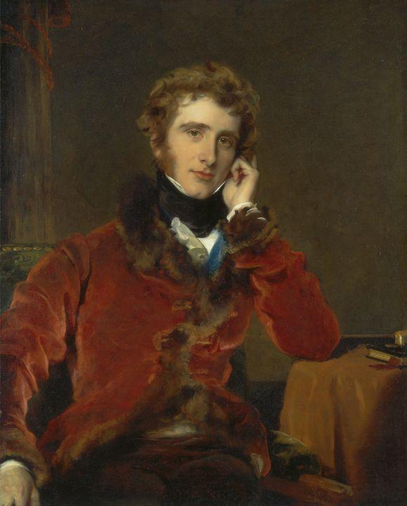 Thomas Lawrence~George James Welbore - Canvas printing