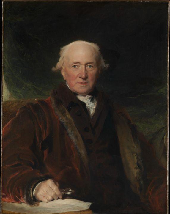 Thomas Lawrence~John Julius Angerste - Canvas printing