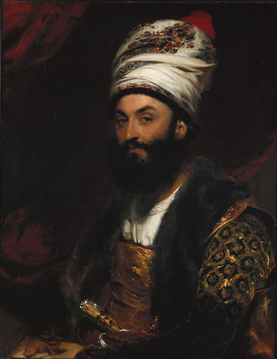 Thomas Lawrence~Mirza Abu'l Hassan K - Canvas printing