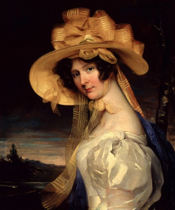 Thomas Lawrence~Portrait of The Marq - Canvas printing