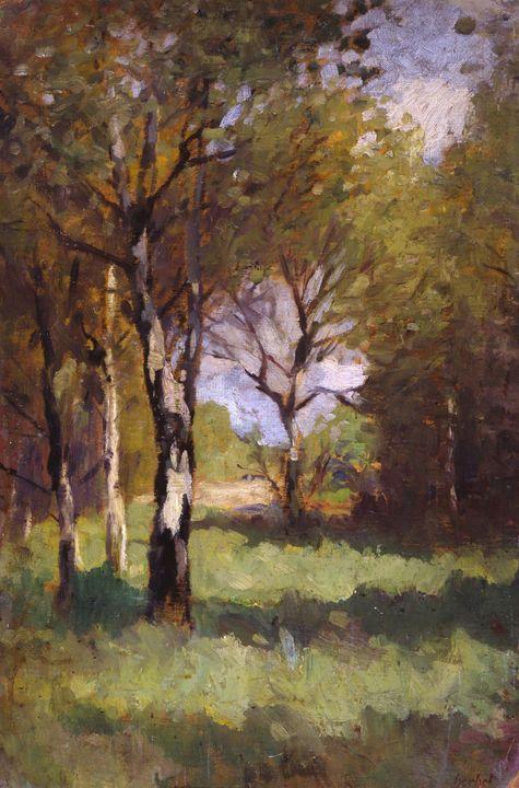 Thomas Ludwig Herbst~Birchs - Canvas printing