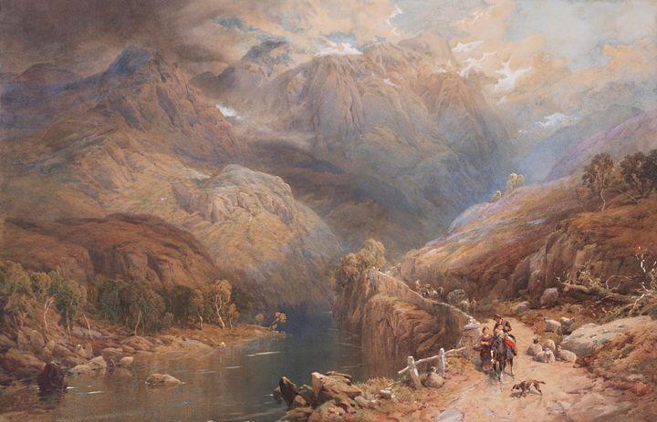 Thomas Miles Richardson Jnr~Eagle Cr - Canvas printing