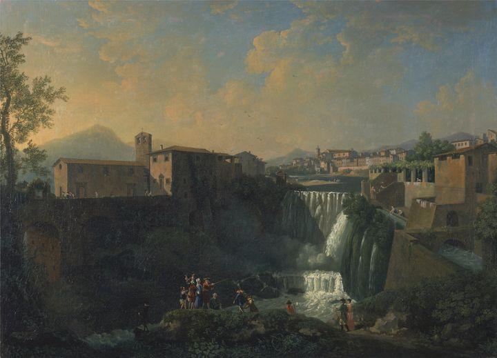 Thomas Patch~A View of Tivoli - Canvas printing