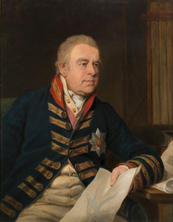 Thomas Phillips~Portrait of Sir Jose - Canvas printing