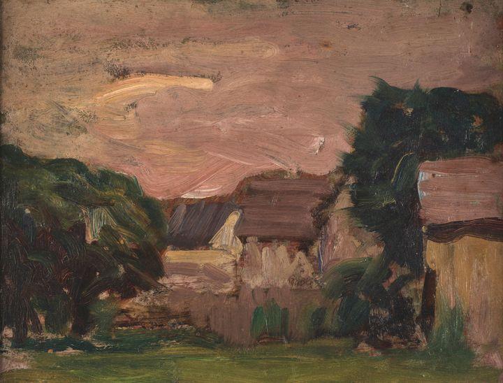 Thomas Pollock Anshutz~Landscape - Canvas printing