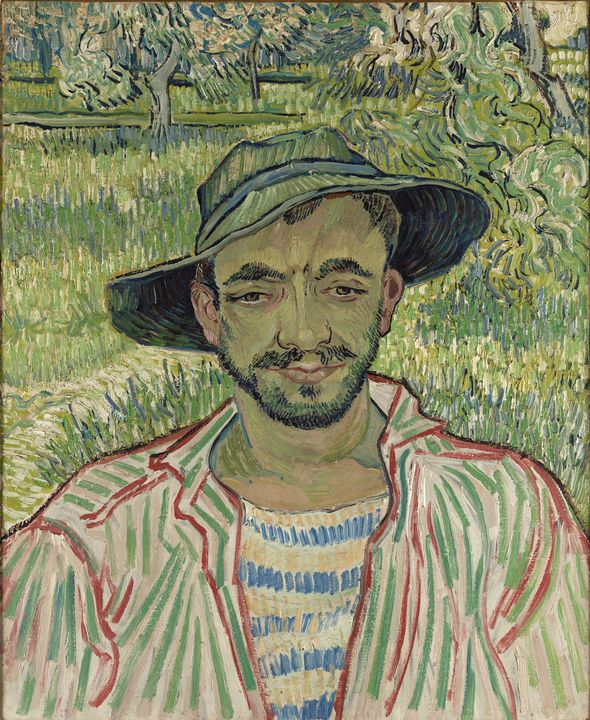 Vincent van Gogh~Il giardiniere - Canvas printing