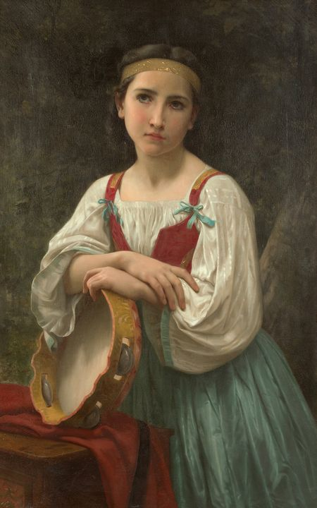William Adolphe Bouguereau (French, - Canvas printing