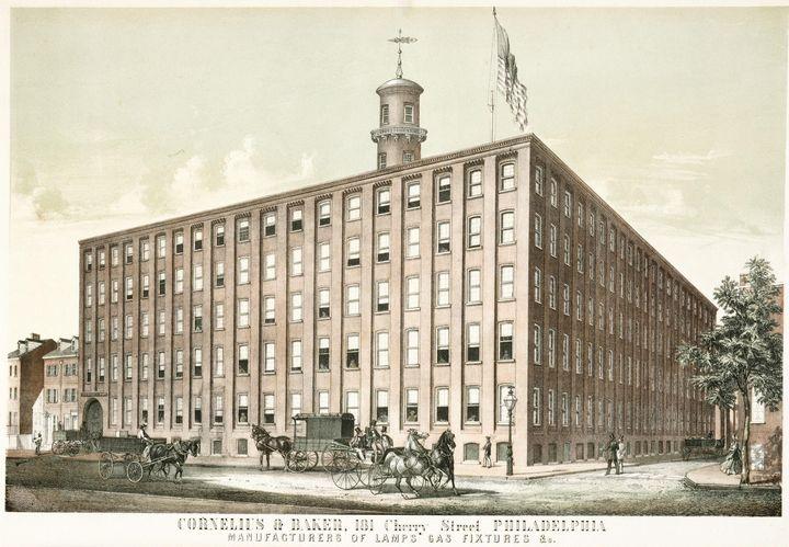 William H. Rease~Cornelius & Baker - Canvas printing