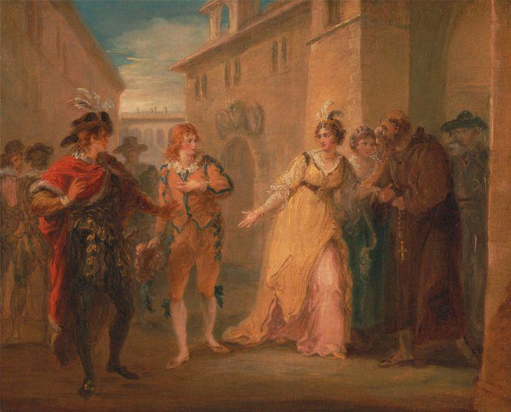 William Hamilton~The revelation of O - Canvas printing